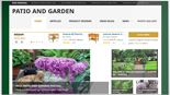 Patio and Garden Review Website