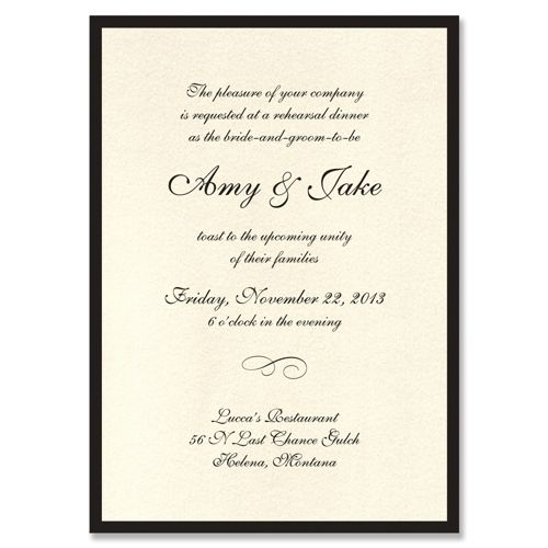 Best 25 Rehearsal dinner invitation wording ideas – Funny Engagement Party Invitation Wording