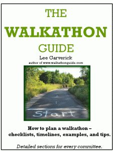 If you're going to host a walk-a-thon, this is for you!