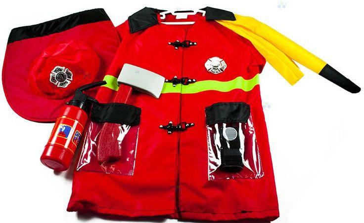 Kostium strażaka #E1 - Stroje i przebrania karnawałowe dla dzieci