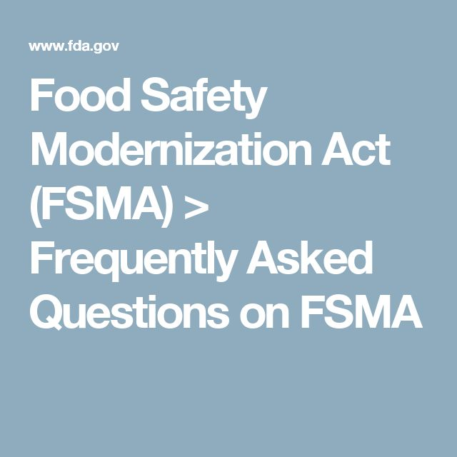 food safety as determined by fsma Food safety modernization act (fsma)  shipper can refuse to load a carrier if vehicle is determined to be unsanitary or contain pests.