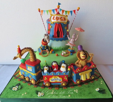 174 best Circus Cakes images on Pinterest Circus cakes