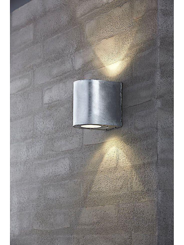 Utomhuslampa i metall - Nordlux Canto LED vägglampa