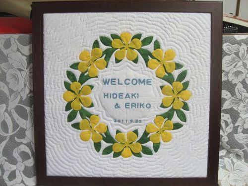 ハワイアンキルト♡夏の結婚式に♡ハワイアンなウェルカムボード一覧♡