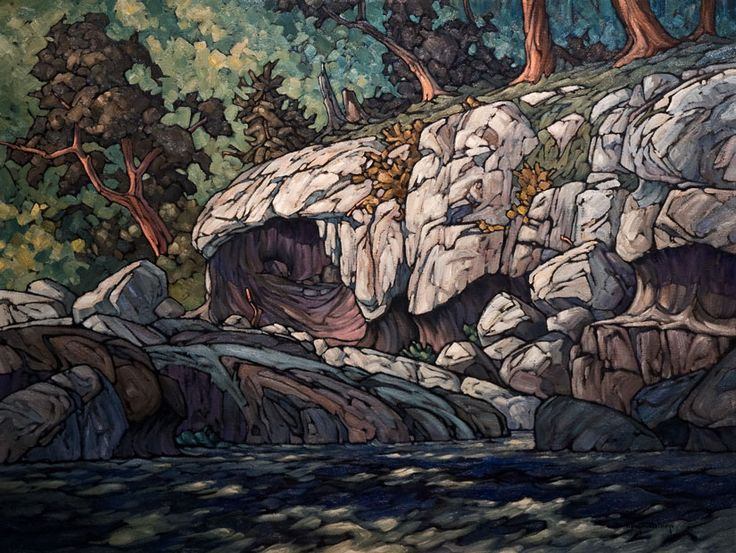 """""""Limestone Cave,"""" by Phil Buytendorp"""