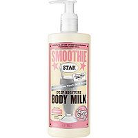 Soap & Glory delicious lotion that smells like a smoothie with vanilla, cinnamon, spice and oatmeal