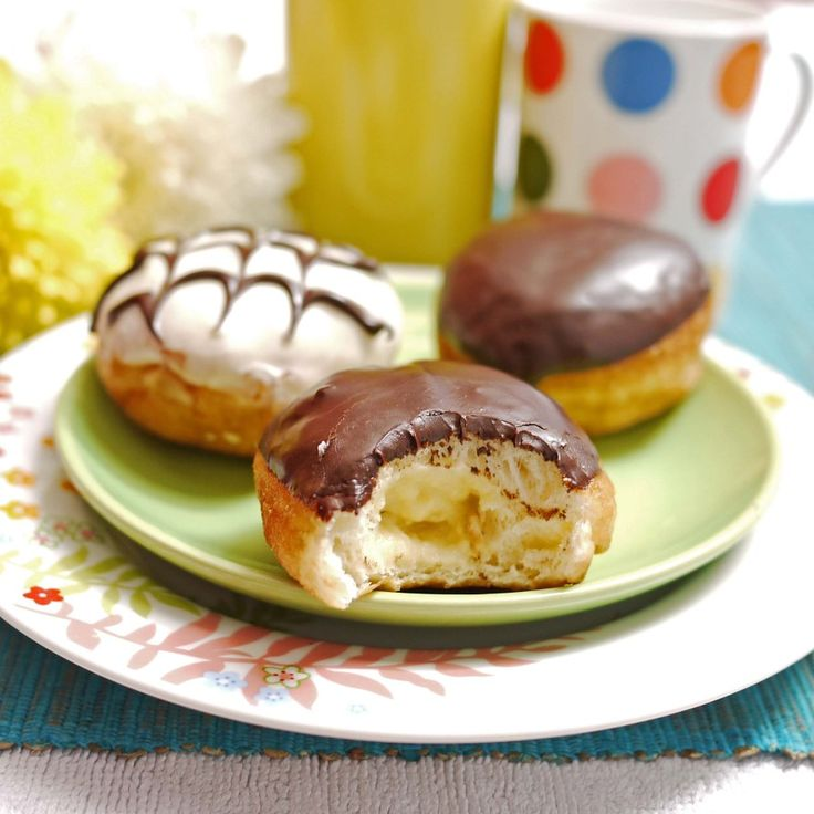 boston cream donuts my favorite donuts
