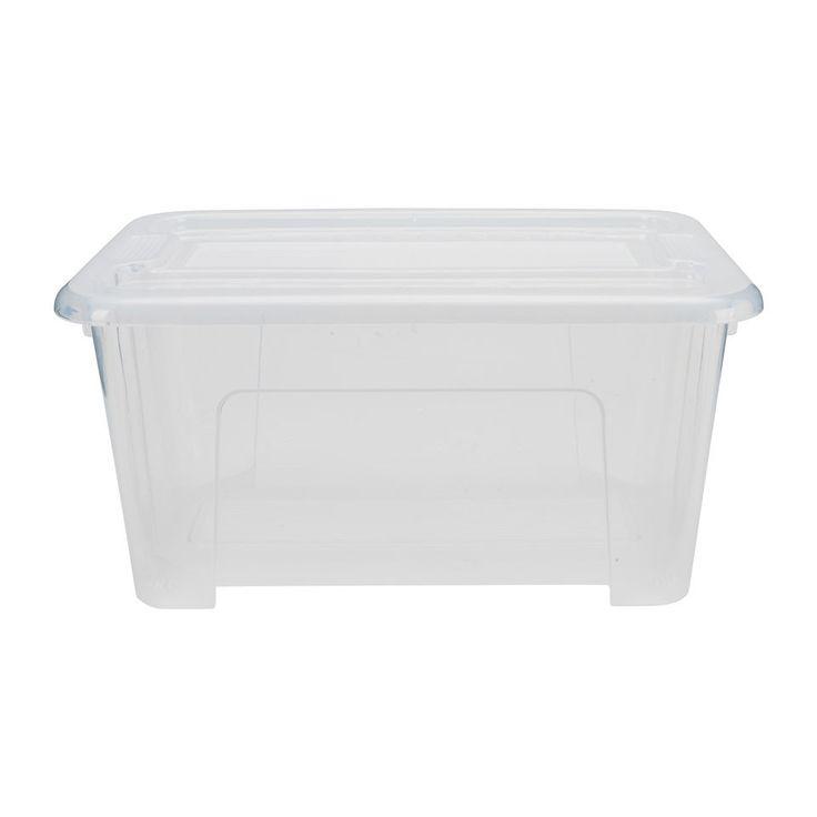 Opbergbox   5 Liter   28x18x14 Cm   Xenos. Euro 1,50. Voor