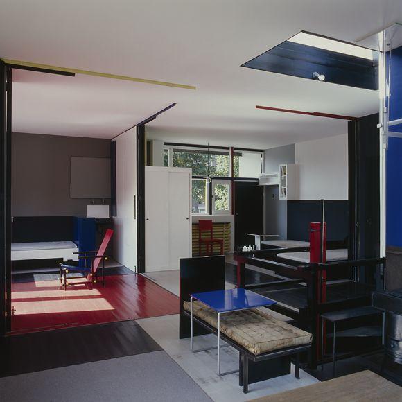 rietveld schr der house utrecht kim zwarts interieur pinterest de stijl cultuur en. Black Bedroom Furniture Sets. Home Design Ideas