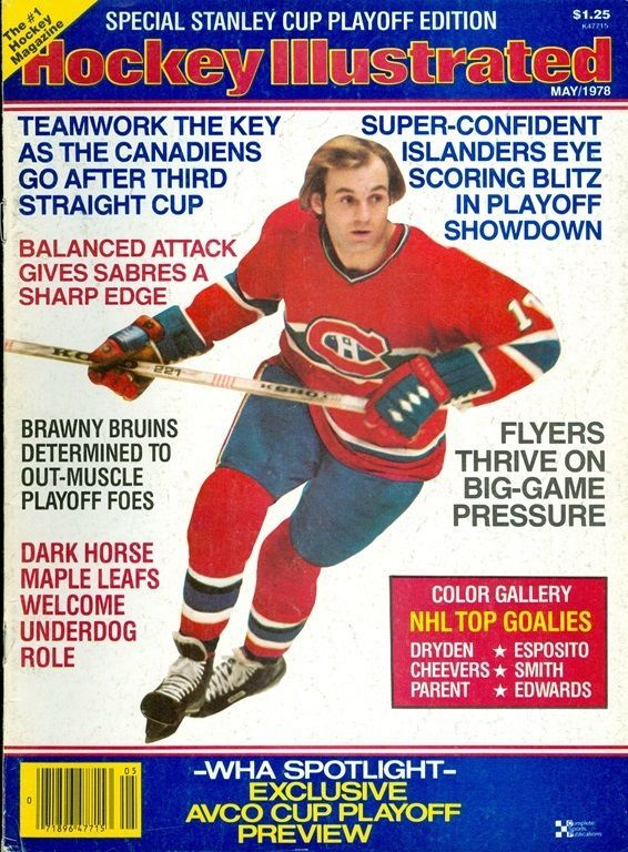 1978 Hockey Illustrated Magazine: Guy Lafleur Montreal Canadiens/Stanley Cup