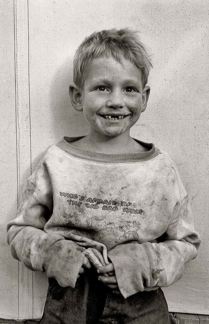 +~+~ Vintage Photograph ~+~+  Migrant cotton picker's child who lives in a tent in the government camp instead of along the highway or in a ditch bank. Shafter Camp, California. November 1938. Dorothea Lange.