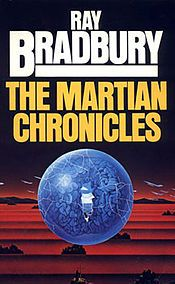I really love this book by the science fiction author Ray Bradbury.  It is great book about the colonization of Mars by the Human race. A must read for those who are into science fiction.