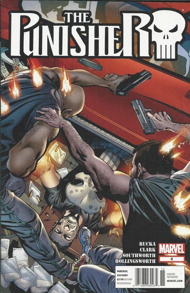 Marvel Punisher comic issue 6 _VIII_