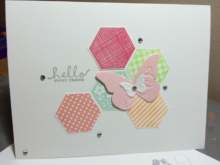 Six Sided Sampler, Stampin Up! 2013 in colours