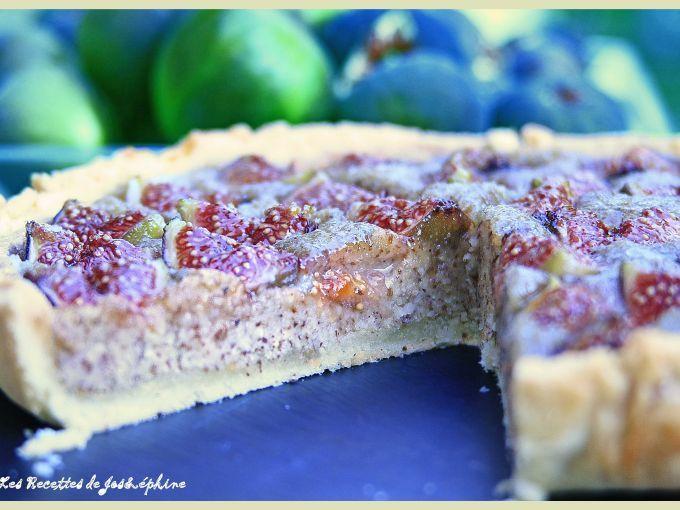 Recette Dessert : Tarte aux figues à la crème d'amande par Lesrecettesdejosephine