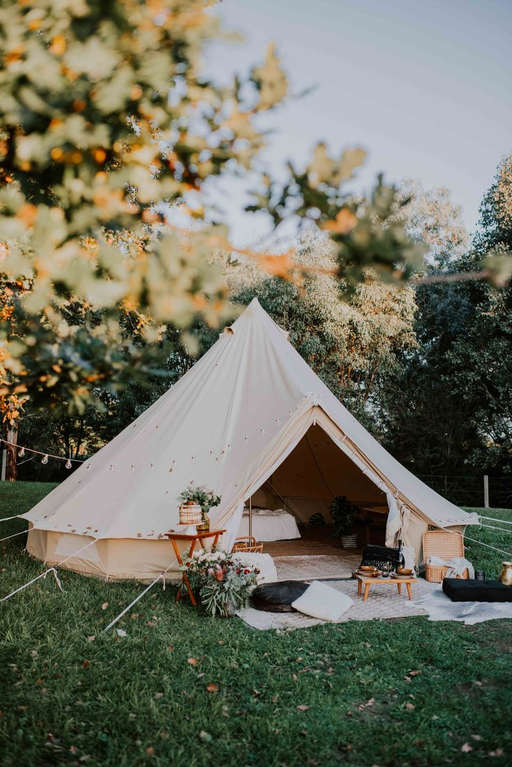 The 5m Diameter Protech Bell Tent is amazingly spacious and airy, ideal for family camping, luxurious glamping (glamorous camping) for couples, as a chill out area at an event or for a workshop. The central pole measures 3m tall allowing plenty of standin