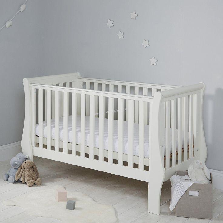Ranjang Bayi Putih Minimalis