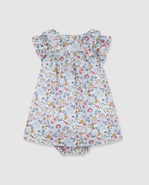 f44f23d53 Vestido de bebé niña Gocco con flores liberty en 2019 | ISI VERANO ...
