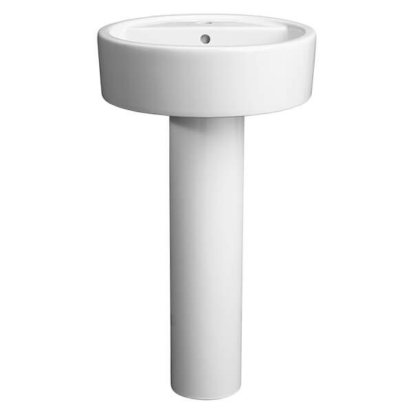 Bathroom Sinks Dxv Luxury Pedestal Countertop And Wall Hung