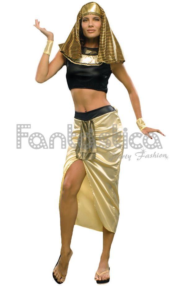 Disfraz para Mujer Egipcia Cleopatra Faraona V - Tienda Esfantastica