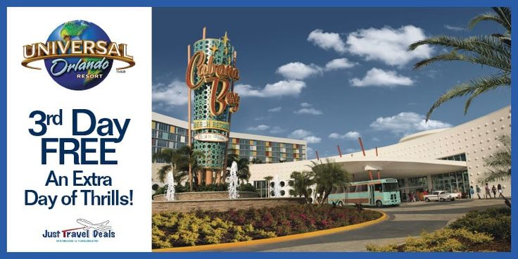 Universal Orlando Resort: Stay on-site and enjoy all the excitement.