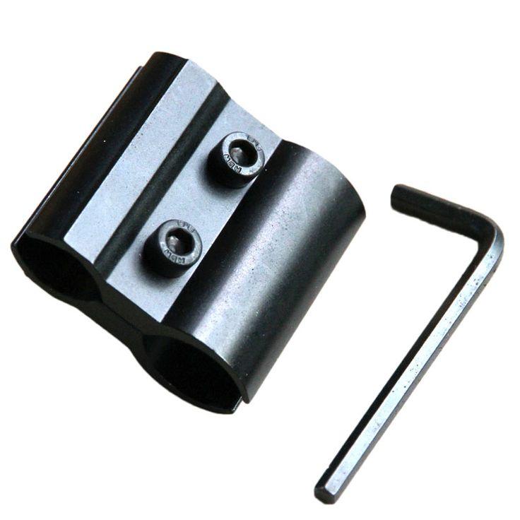 Barrel Scope Mount For Flashlight/Torch/Laser/Scope/sights Barrel Ring Mounts for Hunting Gun