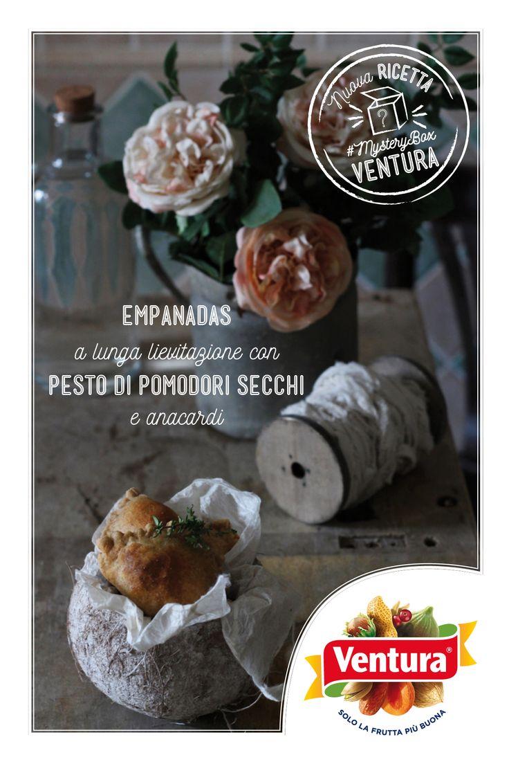 Buongiorno a tutti! Ecco a voi la prima ricetta creata da Alessia del food blog @Miele Selvaggio : http://www.mieleselvaggio.ifood.it/…/empanadas-a-lunga-liev…  Vi piacciono i pomodori secchi? Queste empanadas sembrano appetitosissime  Scoprite le prossime creazioni (e le food blogger che si cimenteranno nelle ricette) preparate con la #MysteryBox Ventura!