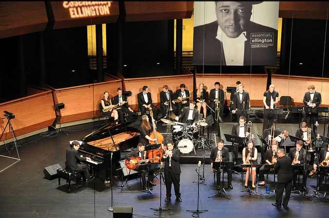 A huge congrats to Roosevelt High School, Garfield High School and Mount Si High School (a first-timer!) whose jazz bands have been named finalists in this year's Essentially Ellington competition!