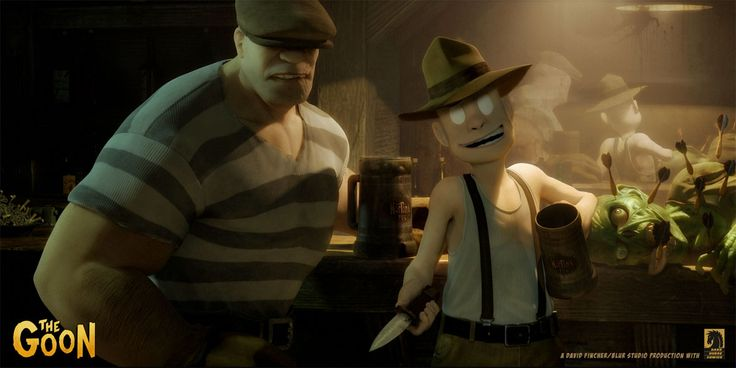 The Goon Movie, por Blur Studios | THECAB - The Concept Art Blog