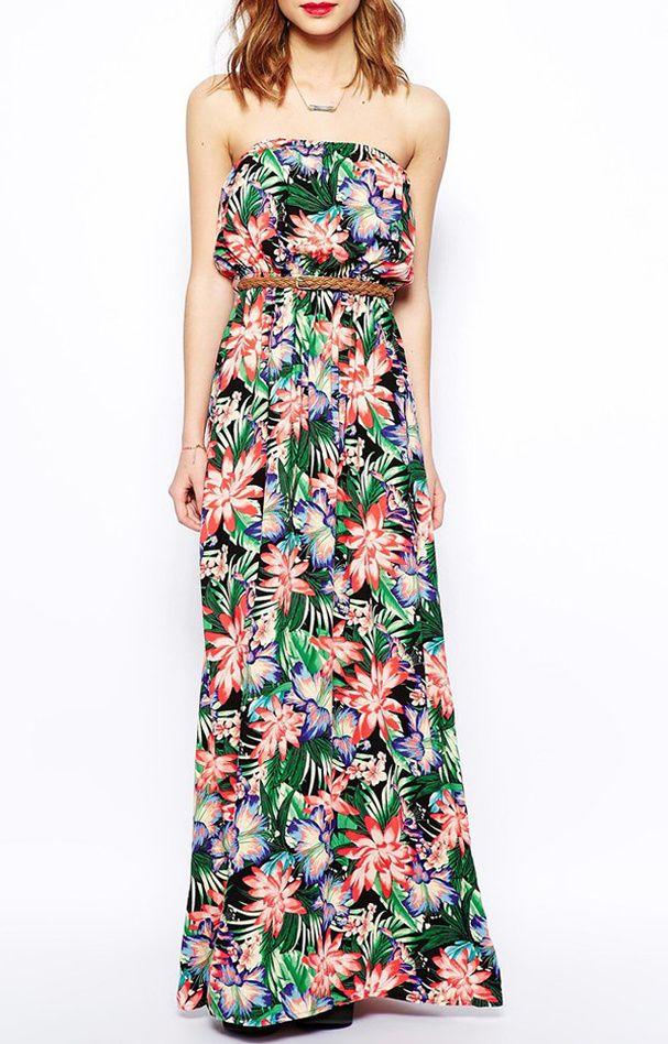 Les 25 meilleures id es de la cat gorie robe tropicale sur for Robes pour mariage tropical