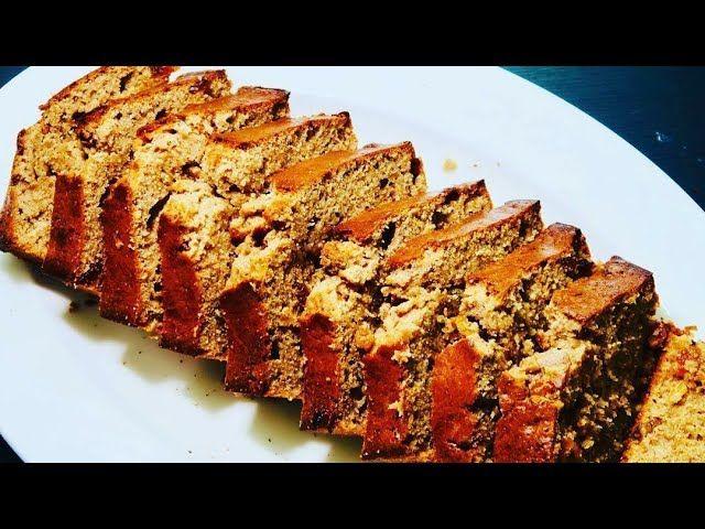 Banana Bread Recipe كيكة الموز الصحية والاقتصادية Food Desserts Banana Bread