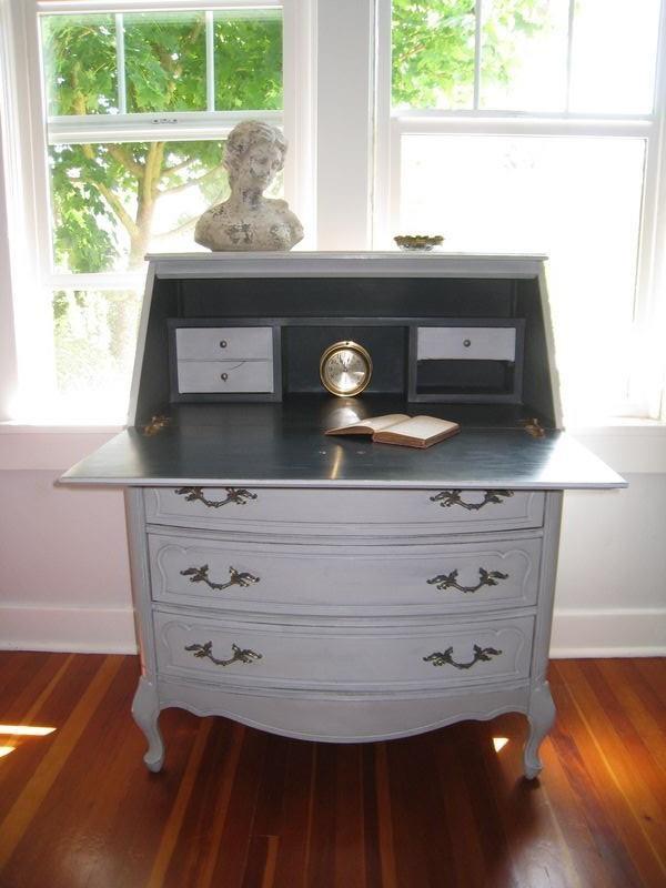 French Provincial Writing Desk Desk Nook Dresser As