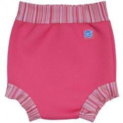 Happy Nappy zwembroek baby Pink Candy  De Splash About Happy Nappy zwemluier maakt babyzwemmen nog leuker. Eindelijk een herbruikbare zwemluier die echt niet doorlekt!