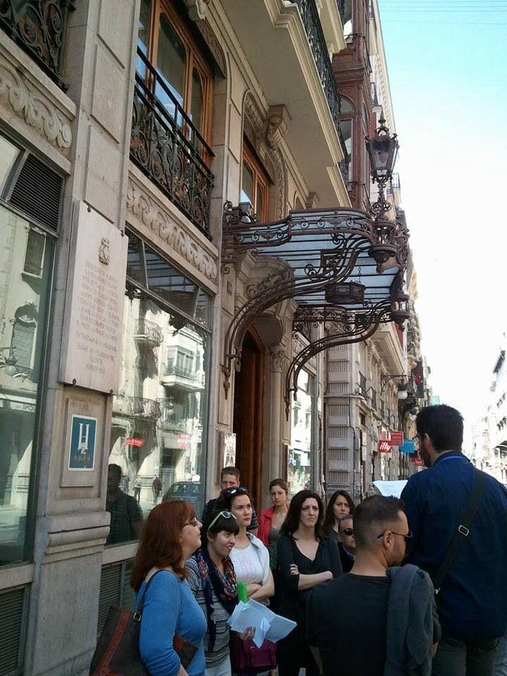 #caminsbelics Valencia CaminArt Hotel Palace. Sede del II Congreso Internacional de Escritores en defensa de la Cultura en 1937