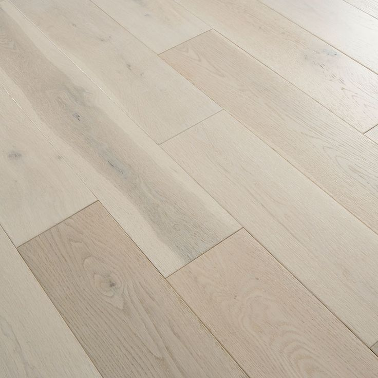 Florence Solid White Oak 125mm Brushed & Lacquered Flooring - Solid Wood range