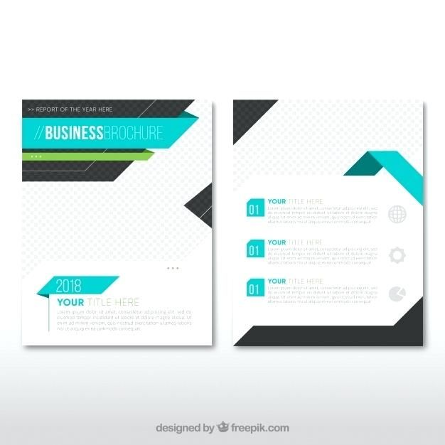word leaflet template free