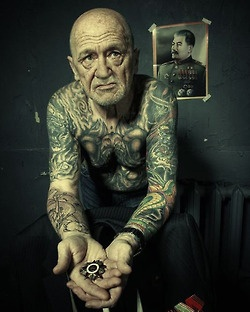 """what are you going to look like when you're older?""    Like I fucking lived one hell of a life."