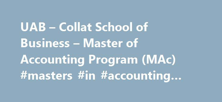 masters in accounting programs