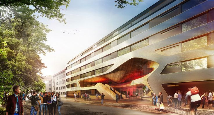 graft architects wins competition to renovate one of germany's oldest youth hostels in munich
