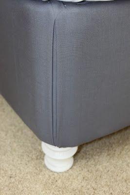 Momma Rake: DIY Upholstered Box Spring