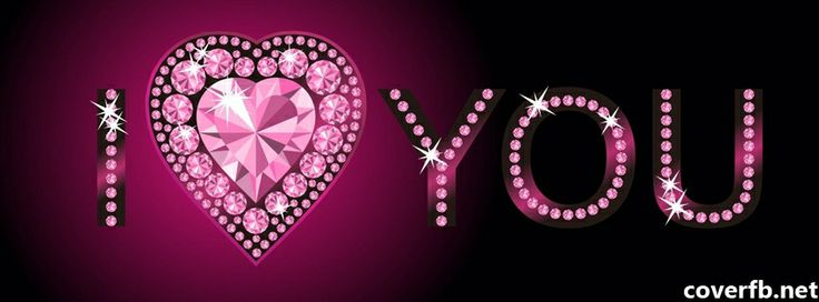 Facebook Cover I Love You Diamond - Facebook Covers, Facebook Timeline Cover Images http://coverfb.net
