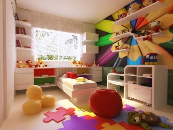 Do You Hesitate Using Bright Colors In Kidsu0027 Rooms? Creating Colorful Rooms  For Youngsters Can Be A Problem, As Bright Colors Are Always Tempting, ...