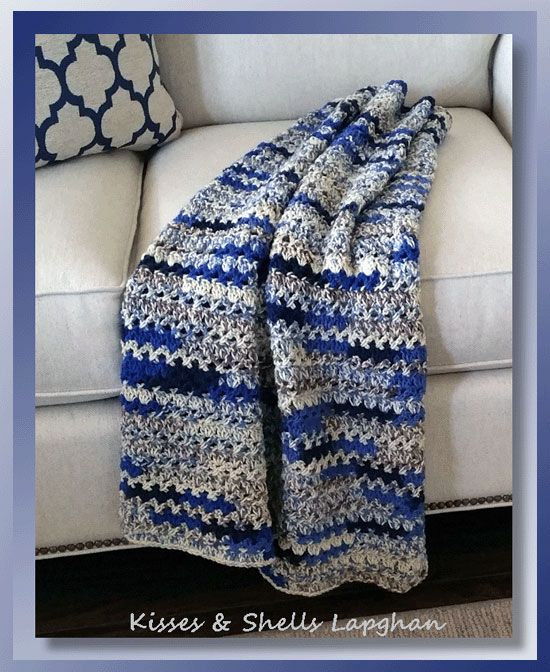 Lapghan Knitting Pattern : 1000+ images about All Things Crocheted ~ Ripples & Stripes on Pinterest ...