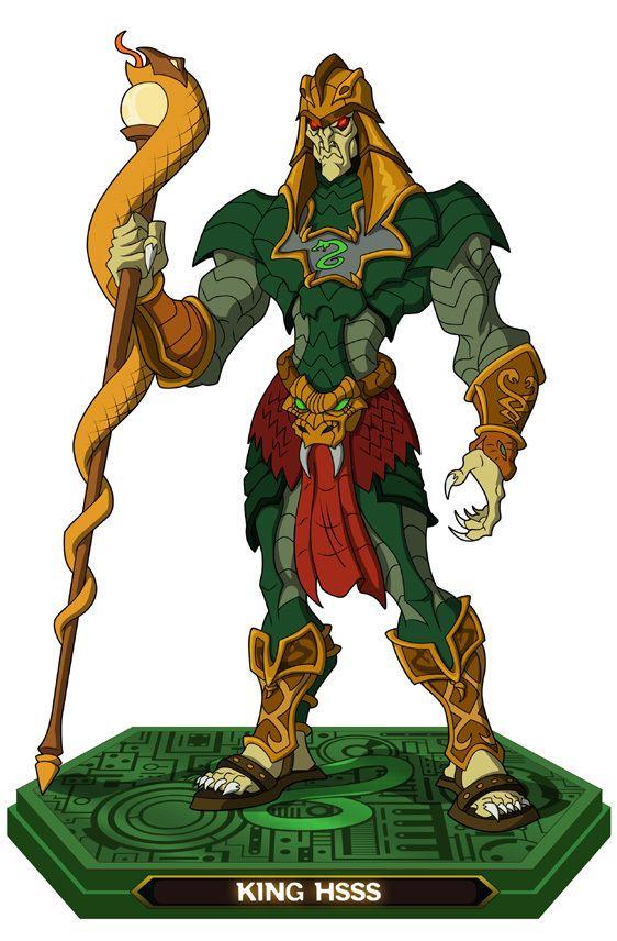 King Hiss - Dentro de sus muchas habilidades el rey Hiss ...