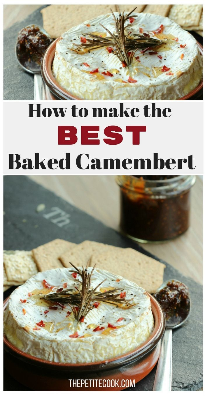 How To Make The BEST Baked Camembert - All the tips and tricks you need to prepare a perfect decadent and gooey baked camembert - Vegetarian Recipe by The Petite Cook - www.thepetitecook.com