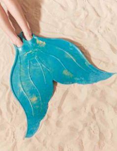Cute mermaid flipper toy