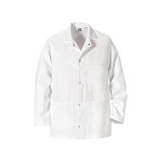 VF Image Wear | Gripper-Front Short Butcher Coat - Five Grippers | Butcher Coats | Clemens Uniform | 406