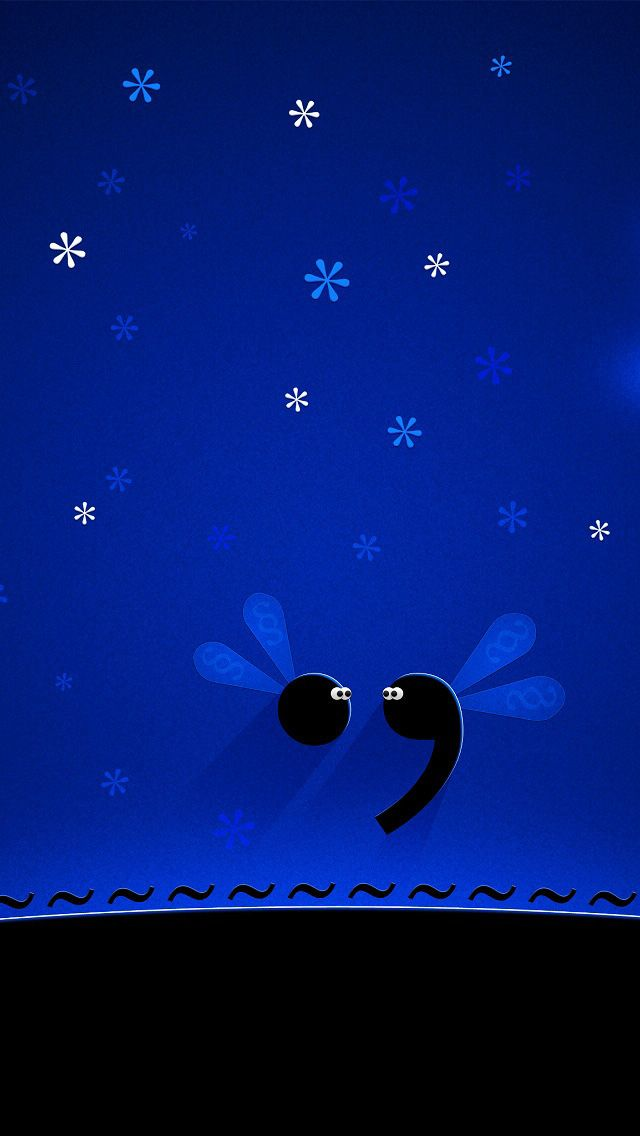 Cute blue background iPhone 5 Wallpapers Cute mobile