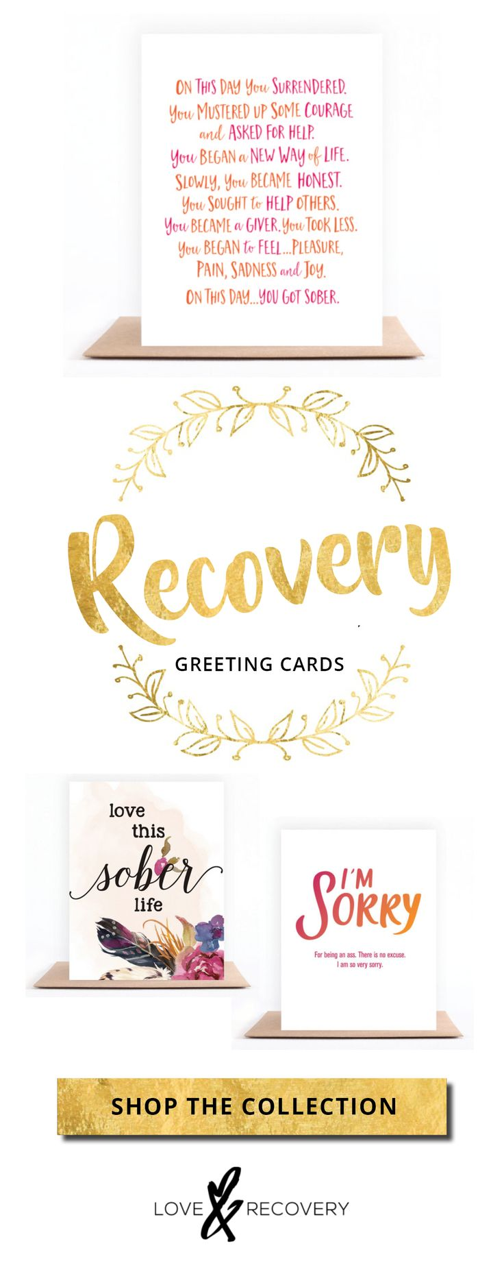 77 best greeting cards lr images on pinterest greeting cards recovery greeting cards available now recovery sobriety addiction cleanandsober kristyandbryce Gallery