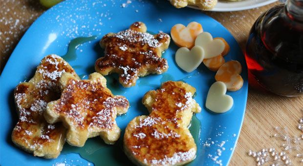 French Toast Smothered in Canadian Maple Syrup